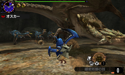 File:MHGen-Rathian and Velociprey Screenshot 001.jpg
