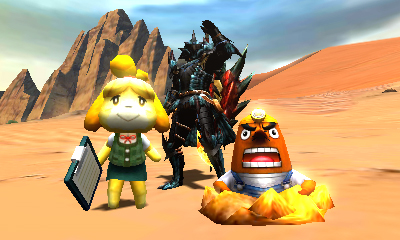 File:MH4U-Animal Crossing New Leaf x MH4U Screenshot 001.jpg