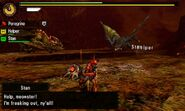 MH4U-Seregios and Azure Rathalos Screenshot 004