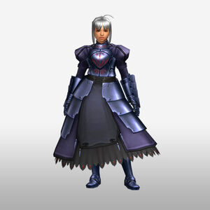 FrontierGen-Knight-King Armor 001 (Female) (Both) (Front) Render