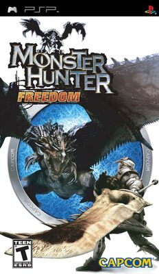 Box Art-MHF1 PSP NA