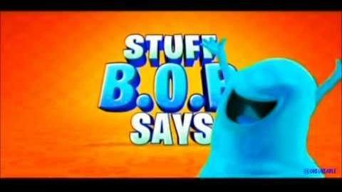 HQ Monsters Vs Aliens - Stuff B.O.B. Says