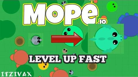 How to LEVEL UP Fast in Mope.io! - Mope.io