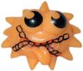 Iggy figure pumpkin orange