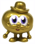 Scrumpy figure gold