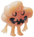 Dipsy figure pumpkin orange