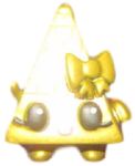Cleo figure gold