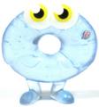 Oddie figure frostbite blue