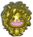 Ruby Scribblez figure gold