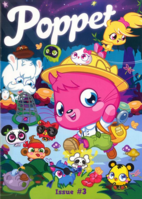 Poppet Magazine issue 3 cover front