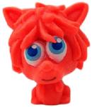 Shrewman figure shocking pink