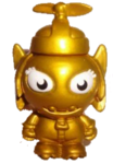 Dizzee Bolt figure gold