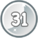 Level 31 icon