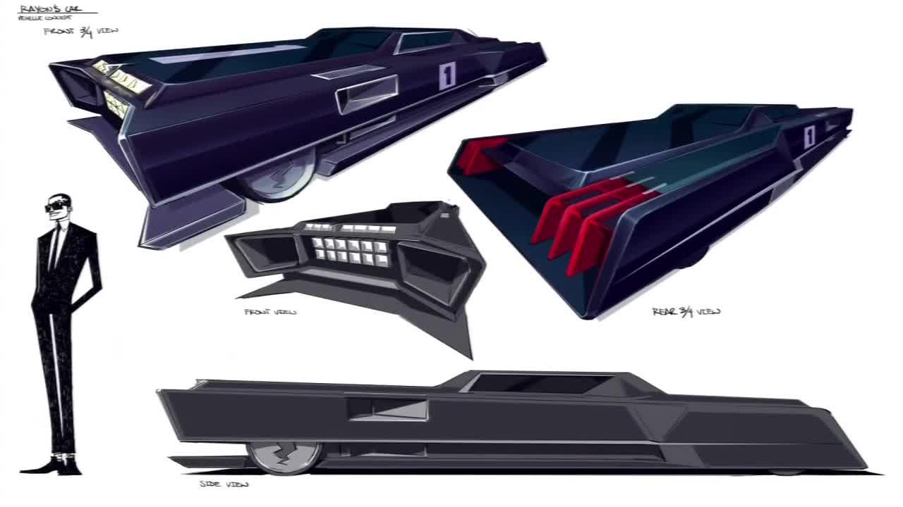 rayon 39 s car motorcity disney xd wiki fandom powered by wikia. Black Bedroom Furniture Sets. Home Design Ideas