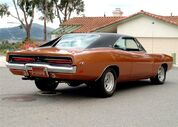 1969 Dodge Charger RT rear