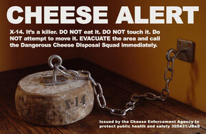Cheese alert