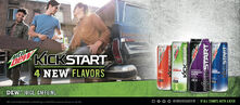 2016 Mountain Dew Kickstart Ad
