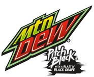 Mountain dew pitch black logo 2011