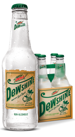 DewShine Bottle and Case