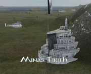 Minas Tirith Map