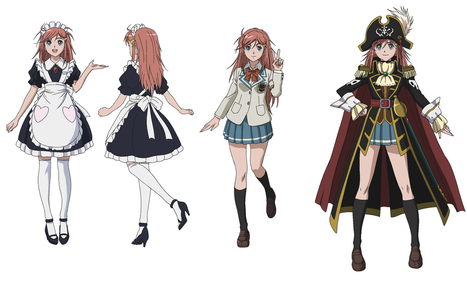 Image Marika Kato And Her Outfits Throughout The Anime