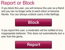 Reporting System-BlockOrReport