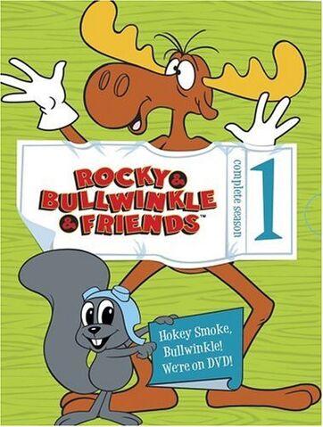 File:Rocky and Bullwinkle and Friends Season 1 DVD.jpg