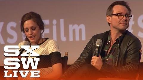 Christian Slater Mr. Robot Q&A Film 2015 SXSW