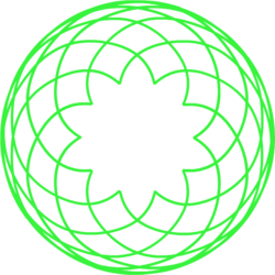 Spirograph transparent