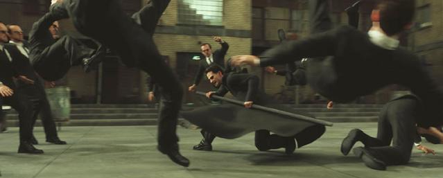 File:RiffTrax- Hugo Weaving with Keanu in Matrix Reloaded.png
