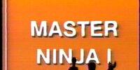 Master Ninja I