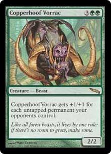Copperhoof Vorrac MRD