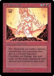 Fire Elemental 2E