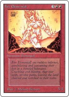 Fire Elemental 2U