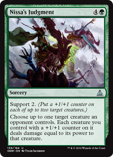 Nissa's Judgment OGW