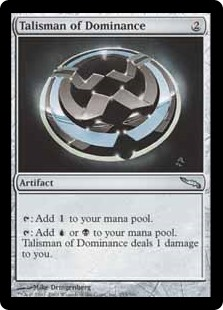 Talisman of Dominance MRD