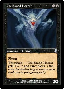 Childhood Horror OD
