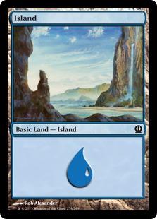 Island (Theros, 234)
