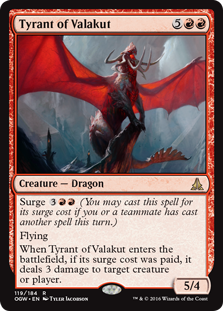 Tyrant of Valakut OGW