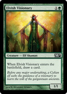 Elvish Visionary M10