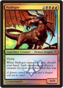 Malfegor Prerelease CON