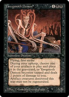 Yawgmoth Demon AQ