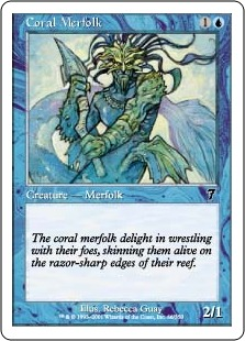 Coral Merfolk 7E