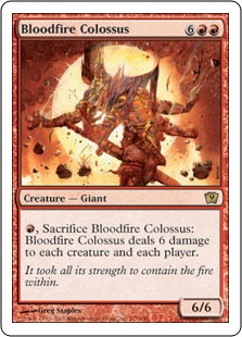 Bloodfire Colossus 9ED