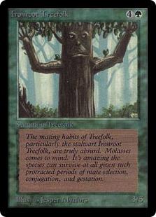 Ironroot Treefolk 2E