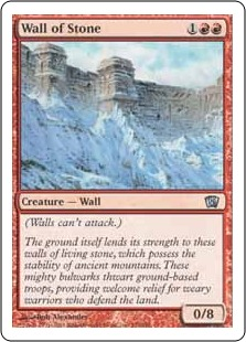 Wall of Stone 8ED