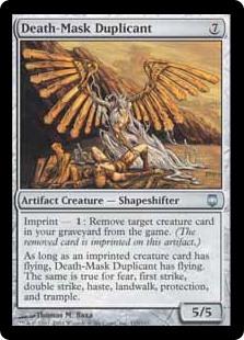 Death-Mask Duplicant DST