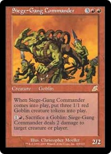Siege-Gang Commander SCG
