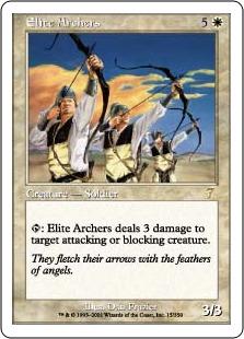 Elite archers 7E