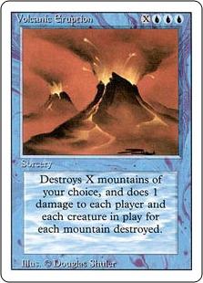 Volcanic Eruption 3E